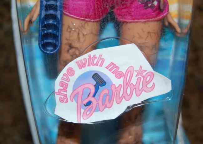 shave-with-me-barbie