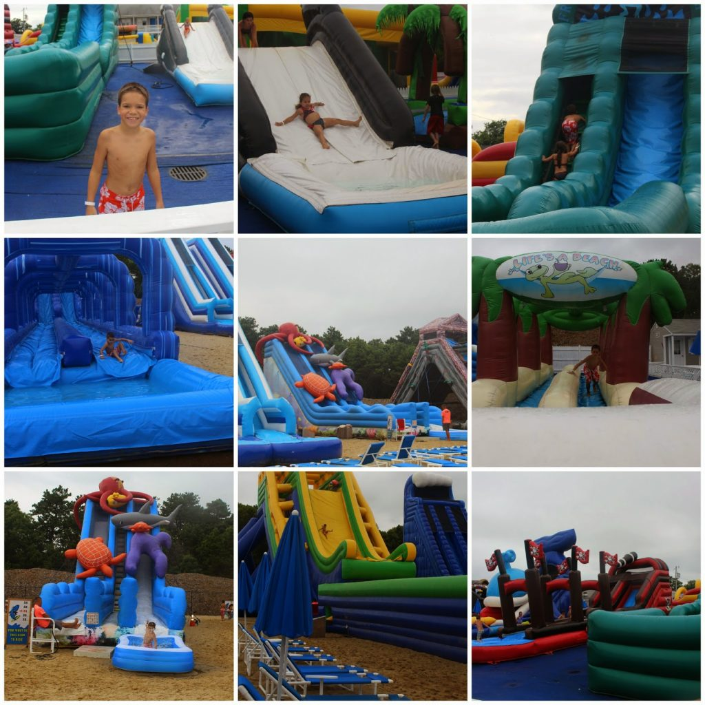 Cape Cod Inflatable Park At The Cape Cod Family Resort