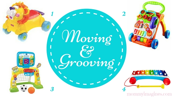 Moving and Grooving Toys for 1 Year Old Boys