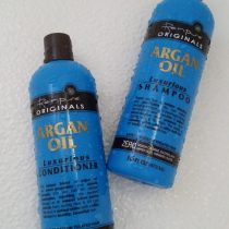 My new favorite hair products! Renpure Organics Argan Oil Shampoo and Conditioner