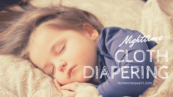 Many people fear cloth diapering overnight. They don't want to risk a wet bed or baby's sleep. But with a little thought cloth diapering at night can be easy peasy and you have a wide variety of solutions to choose from. #clothdiapering #overnightdiapers #nighttimediapers #clothdiapers #clothdiaperingmama #fluffbum #clothbum #fitteddiapers #nightdiapers #clothdiapers