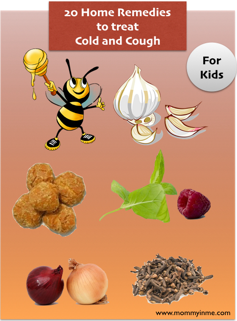 Home remedies for cold ad cough in Kids