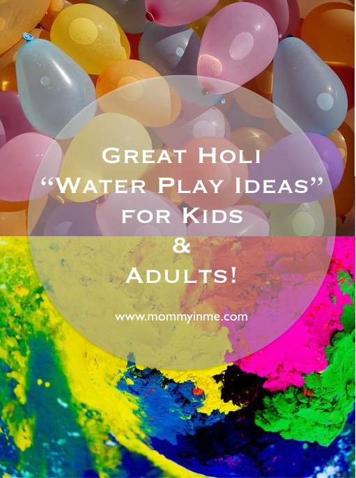 5 Best Holi & Summer Water Play games ideas for Kids