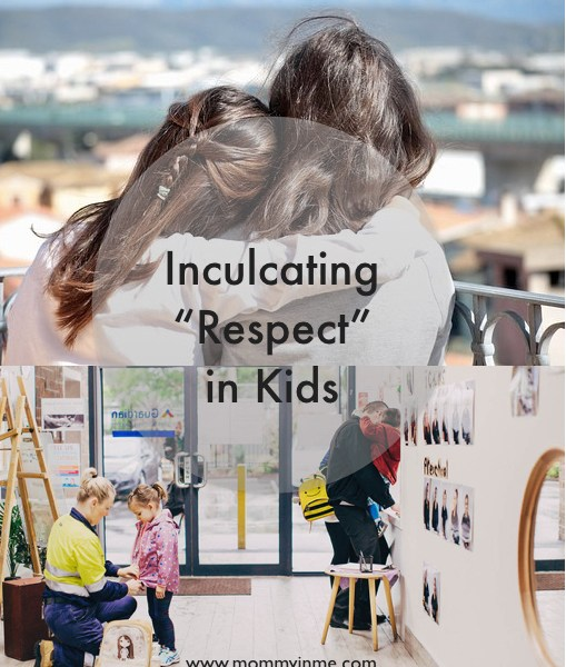 Inculcating the value of Respect in kids is something every parent work towards. We know that kids learn more from what they see. So here are some tips to help you transfer the value of respect while raising kids.#respect #raisingkids #positiveparenting #parenting #motherhoodgoals