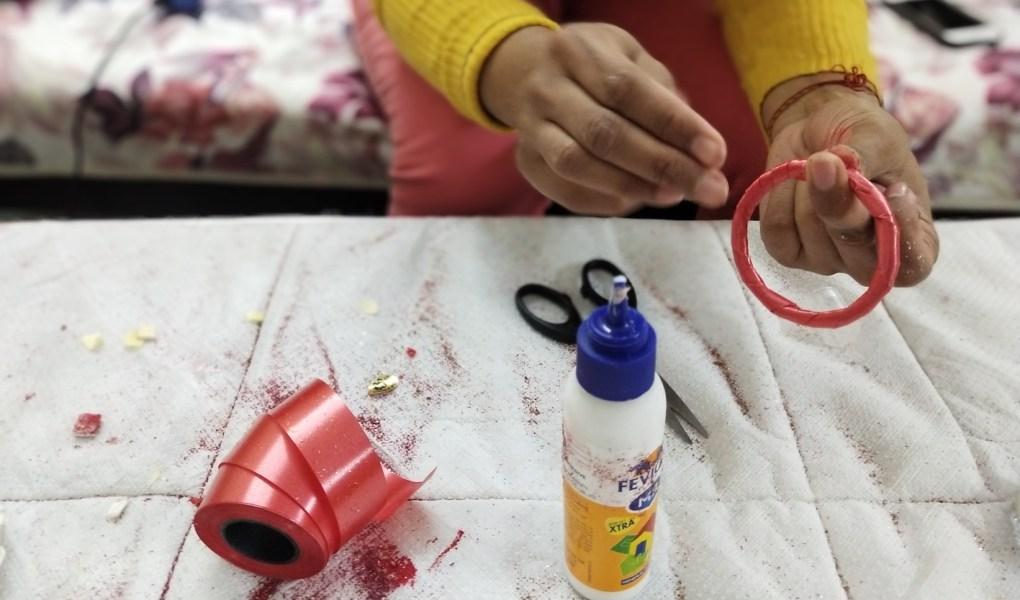 DIY Craft Christmas Jingle bells