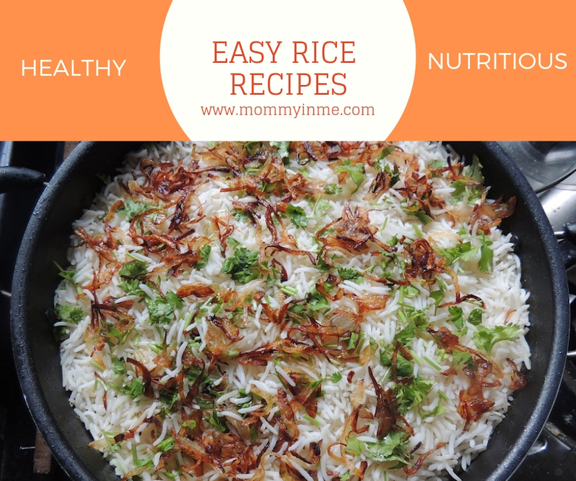 Rice is a staple cereal across the world. And here are 5 nutrious and tasty Rice recipes for kids. Easy to cook, these delicacies taste delicious. #kidsrecipe #deliciousfood #recipe #ricerecipe #forkids #tiffinideas #lunchideasforkids