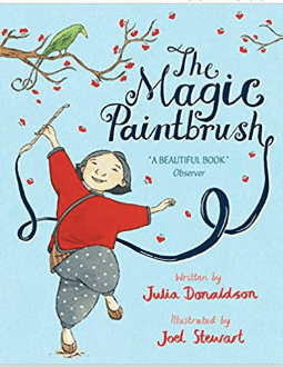 It's time that you need to introduce Kids to story books by Julia Donaldson, the author of The Gruffalo. Read best story books for kids 3-6years. #Thegruffalo #gruffalo #storybooks #kidsbooks #storytelling #Juliadonaldson #themagicpaintbrush