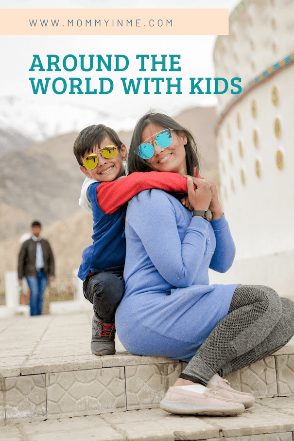 Reasons to travel with Kids. Travelling with Kids as a family enhances your bonding time. Read why should you travel with kids #travelwithkids #travelindia #incredibleindia #blogchatterA2Z #France #Ezevillage #leh #ladakh