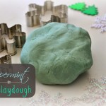 Homemade Peppermint Playdough Recipe