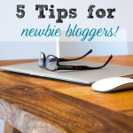 5 Tips for Newbie Bloggers [VIDEO]
