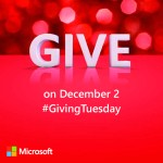 Giving Tuesday at the Microsoft Store [VIDEO]