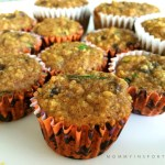One New Food – Paleo Zucchini Muffins