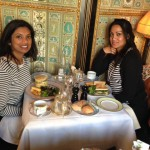 Lunchen in Laduree