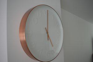 De nieuwe klok :)