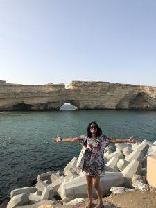 Zon, Zee, Strand in Oman