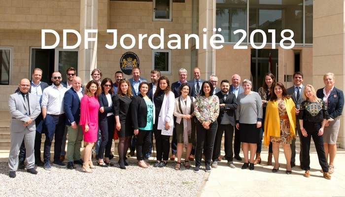 Met de DDF naar Jordanië