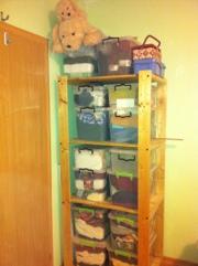 Our Ghetto Storage Solution
