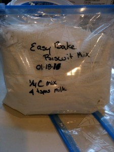 Bag of Biscuit Mix