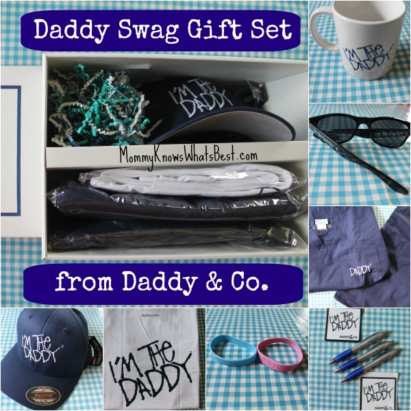 Gifts for New Dads in the Daddy Swag Gift Set from Daddy & Co.