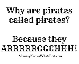pirate joke, cheesiest jokes