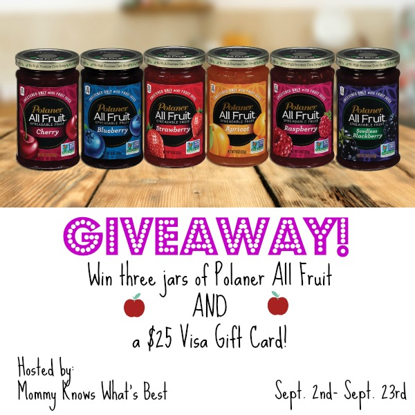 polaner all fruit giveaway