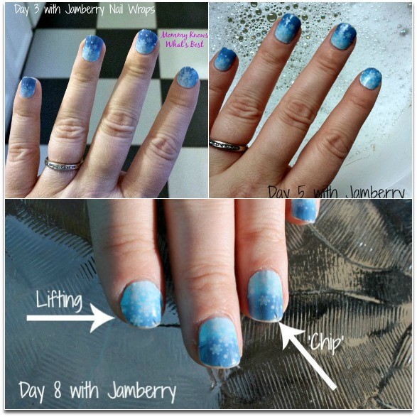 how long do jamberry wraps last