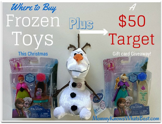 where to buy frozen toys