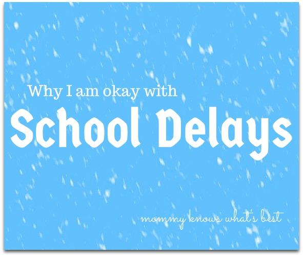 school snow delays