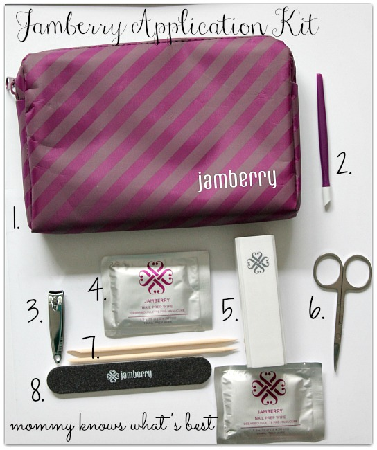 jamberry nail wraps application kit