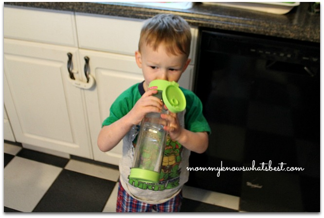 glass water bottle for kids