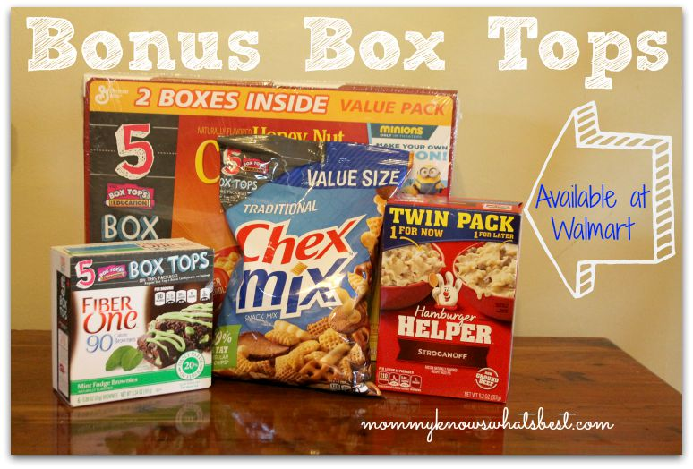 Bonus Box Tops at Walmart