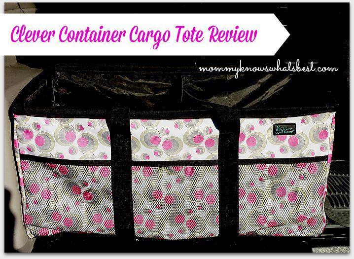 Clever Container Cargo Tote Review