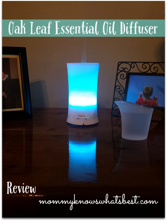 Oak Leaf Essential Oil Diffuser Review