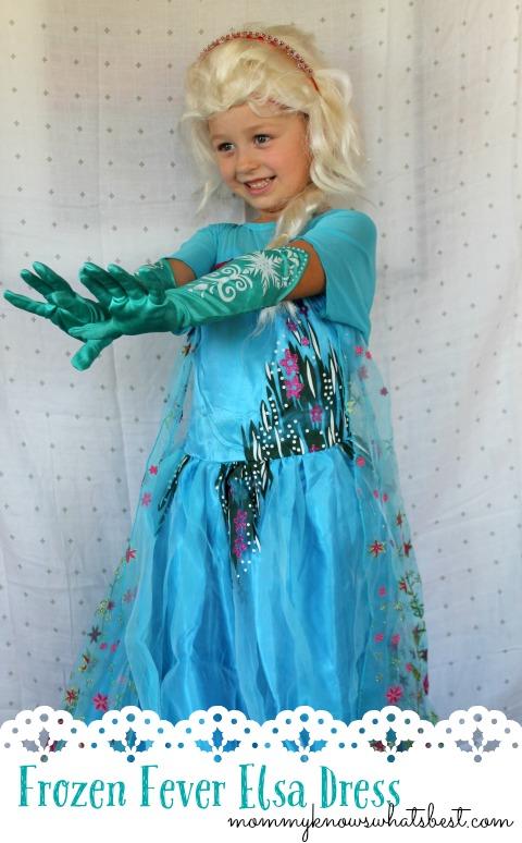Frozen Fever Elsa Dress Costume Reviiew