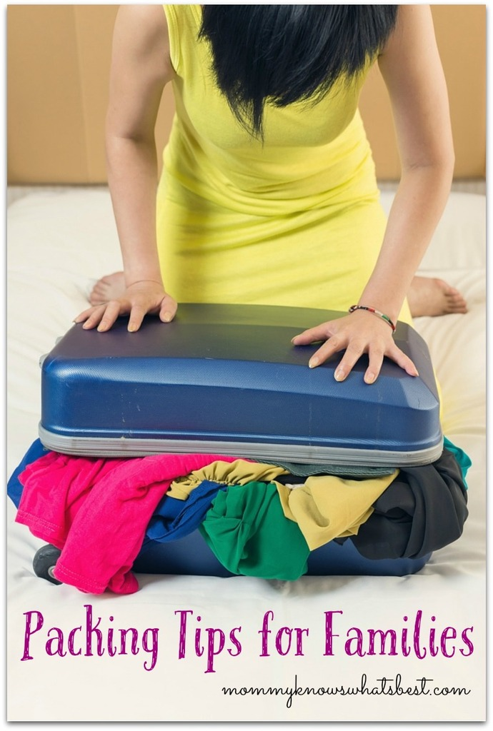 Packing Tips for Families