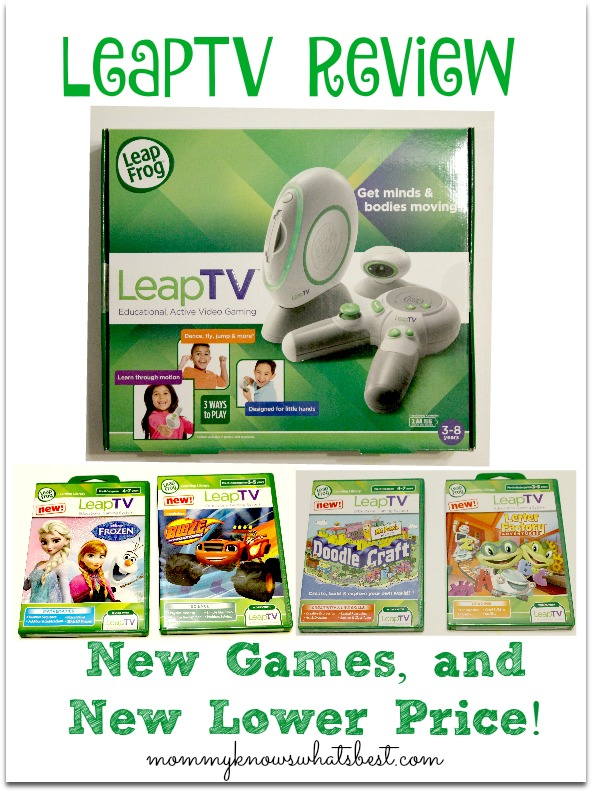 LeapFrog LeapTV Review and Games