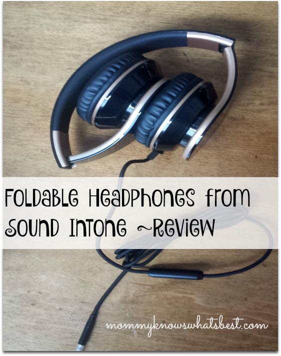 foldable headphones from sound intone reveiw
