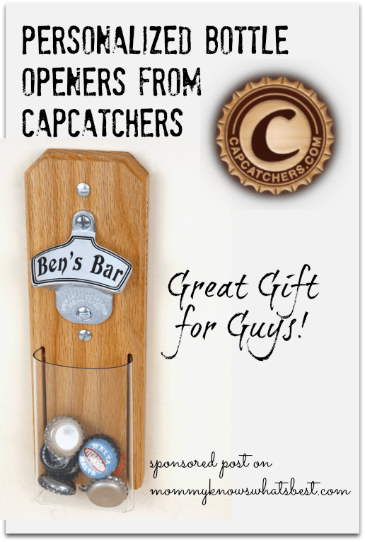 personalized bottle openers from capcatchers
