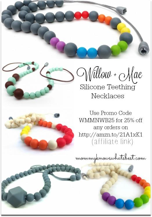teething necklace promo code