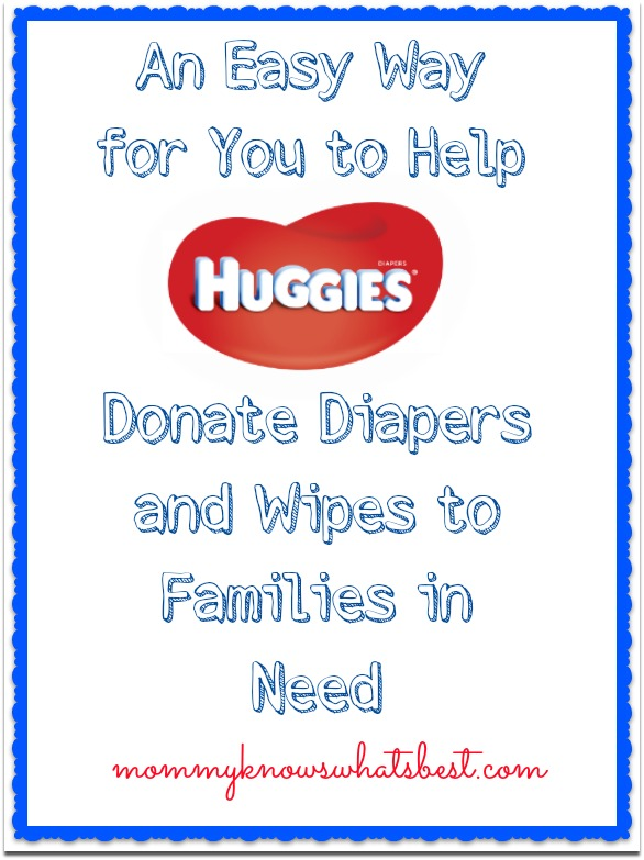 donate huggies rewards