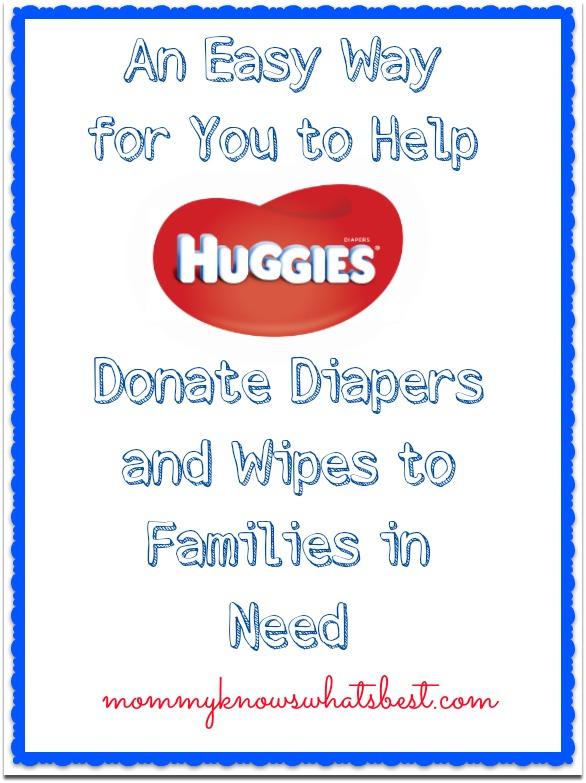 donate huggies rewards