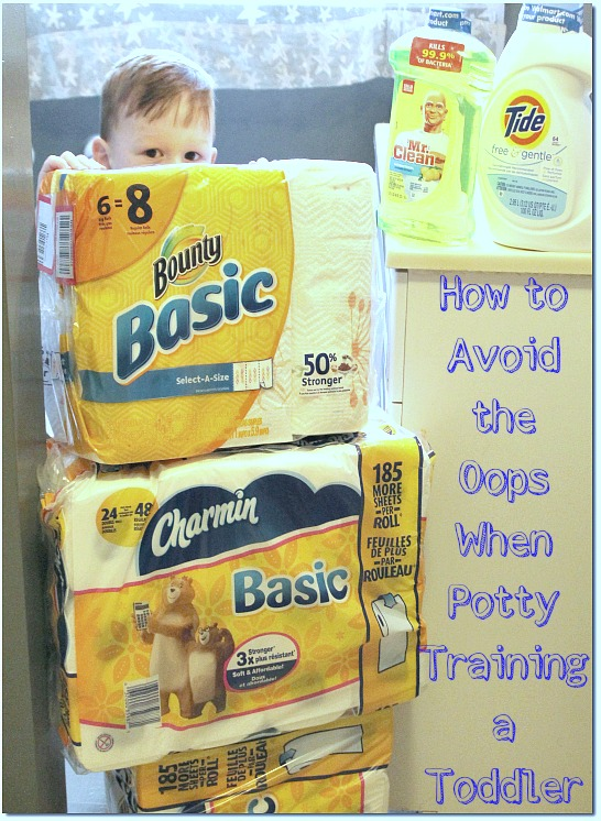 when potty training a toddler