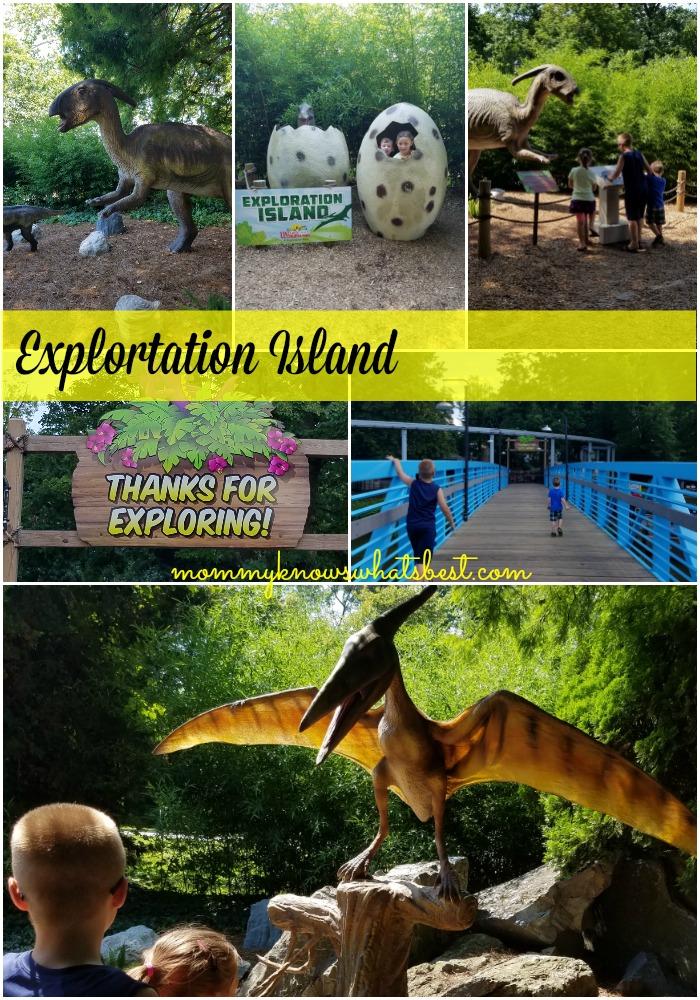 dinosaurs at dutch wonderland
