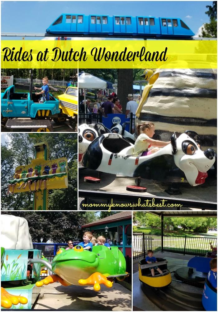 rides at dutch wonderland