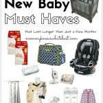 Top 10 Must Haves for a New Baby