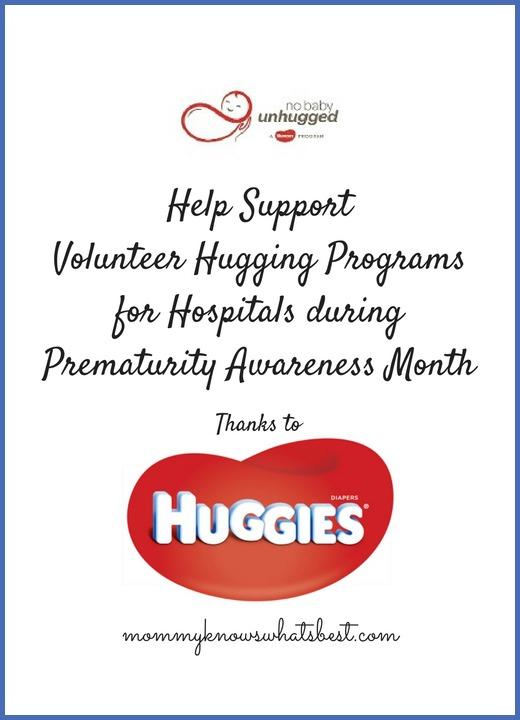 volunteer hugging programs for preemies