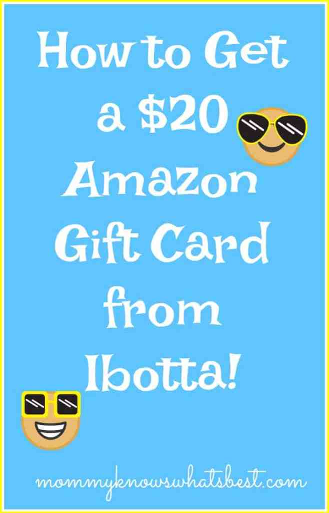 get a amazon gift card from ibotta