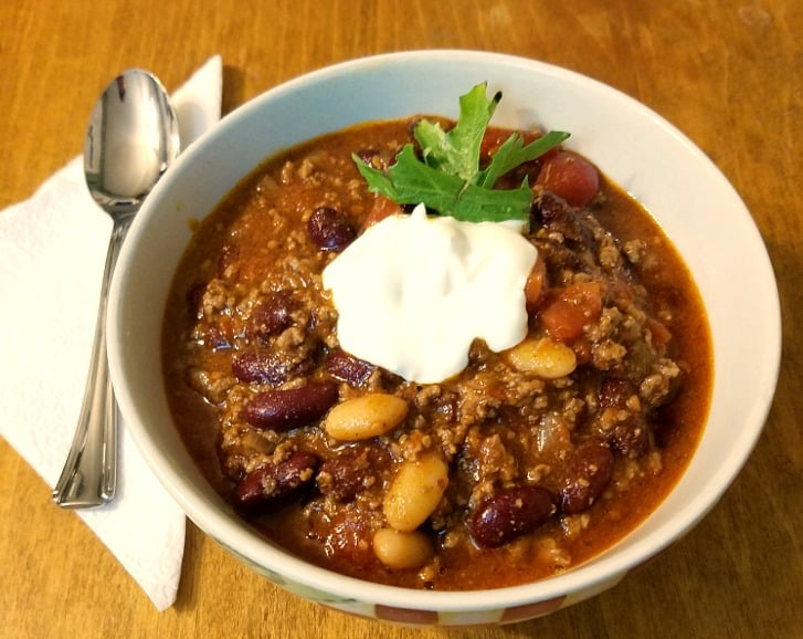 super easy beef chili recipe