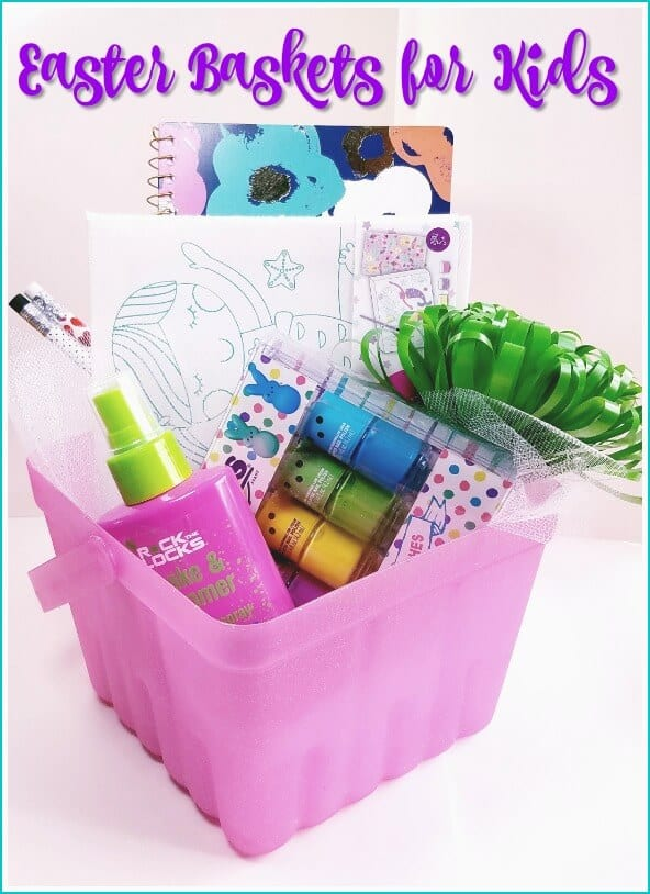 How to create an awesome candy free easter baskets for kids candy free easter basket ideas for kids negle Choice Image