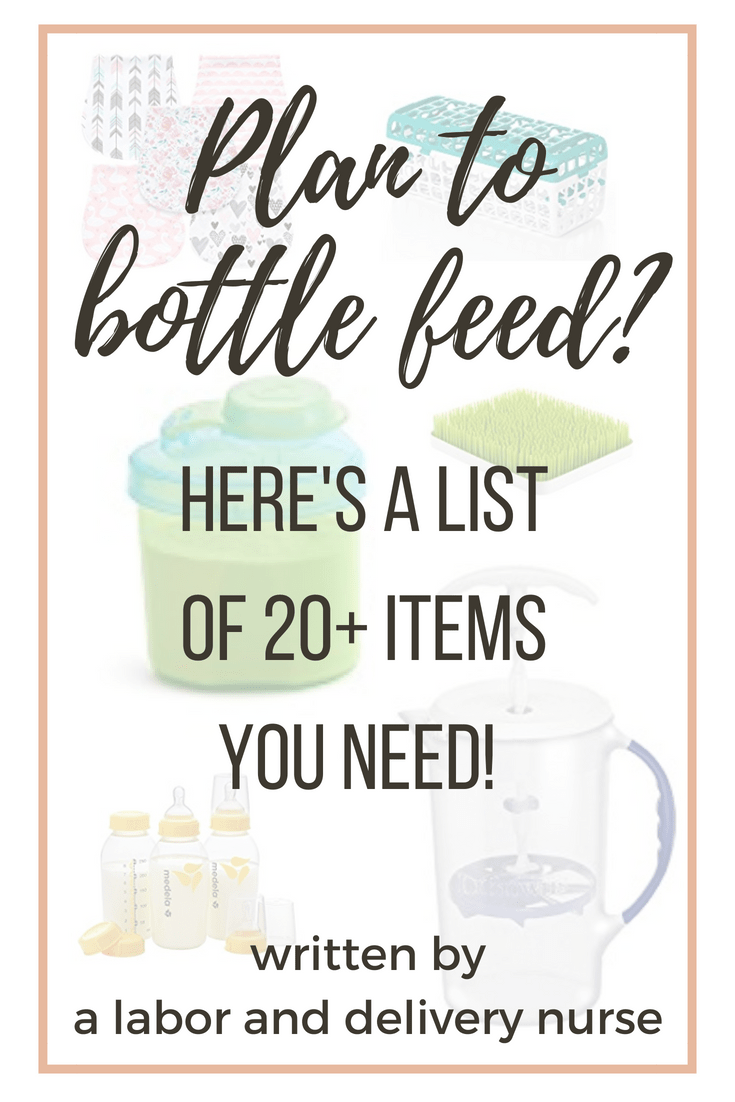 bottle feeding equipment